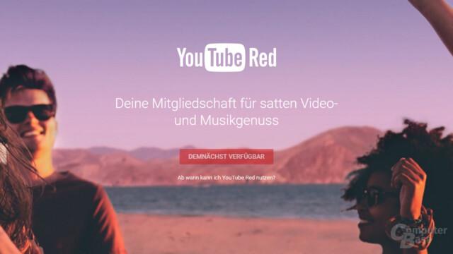 Deutsche Seite für YouTube Red