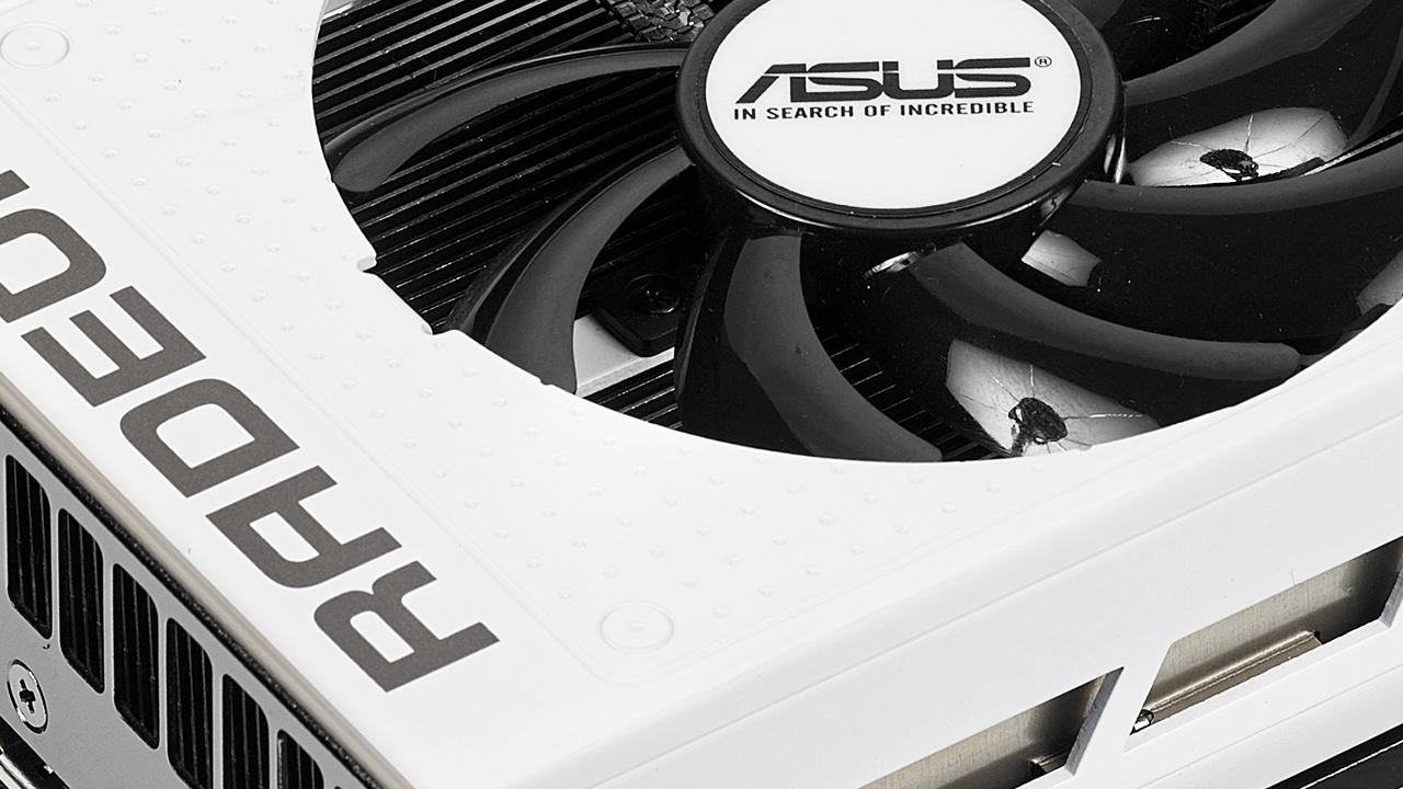 Asus R9 Nano White: AMDs Mini-Grafikkarte erhält ein neues Kleid