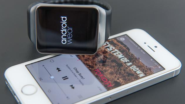 Android Wear mit iOS: iPhone und Smartwatch mit Googles OS bleiben sich fremd