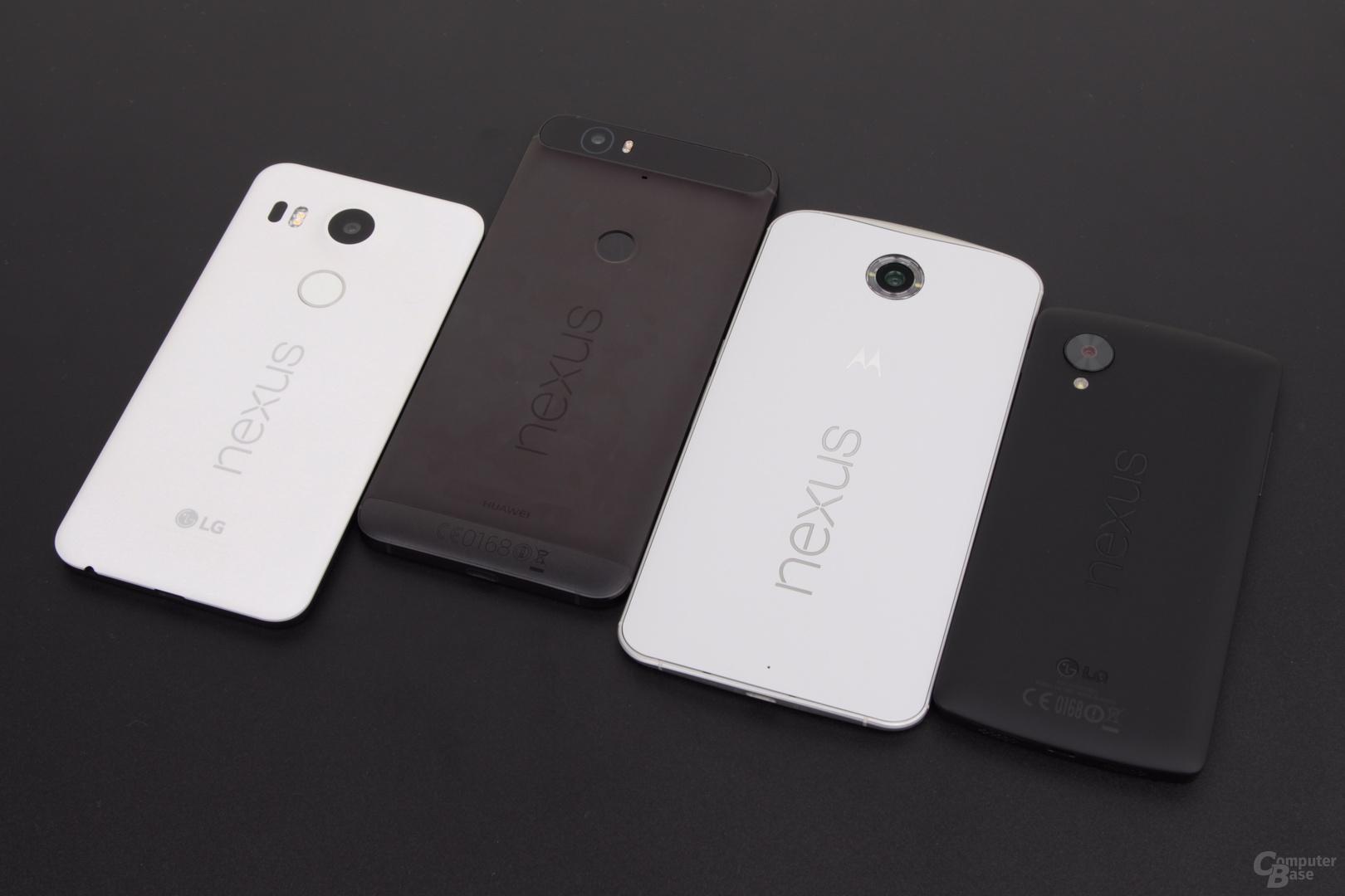 Die Nexus-Familie der letzten zwei Jahre