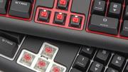 Corsair Strafe (RGB) im Test: Mit MX-Silent-Tastern soleise wie mit Gummiglocken