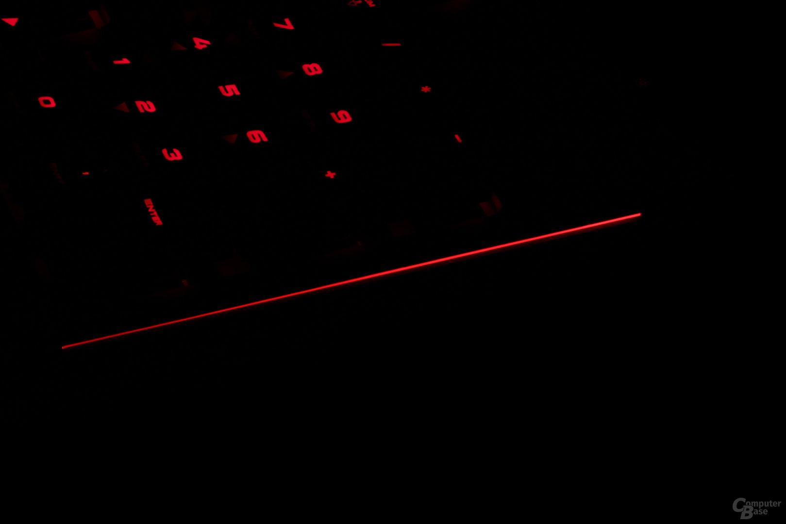 Die Strafe (RGB) besitzt beleuchte Zierstreifen