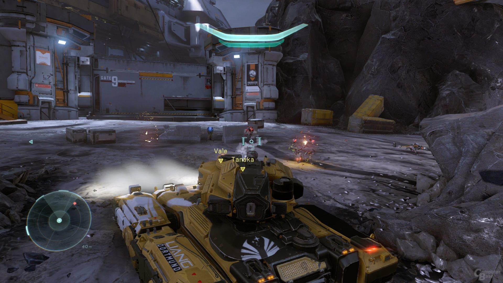 Die typische Fahrzeug-Sequenz darf in keinem Halo-Ableger fehlen