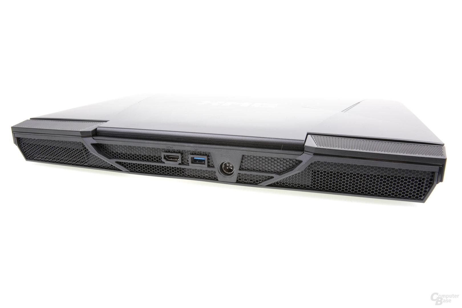 Schenker XMG U726 Ultimate - USB und HDMI