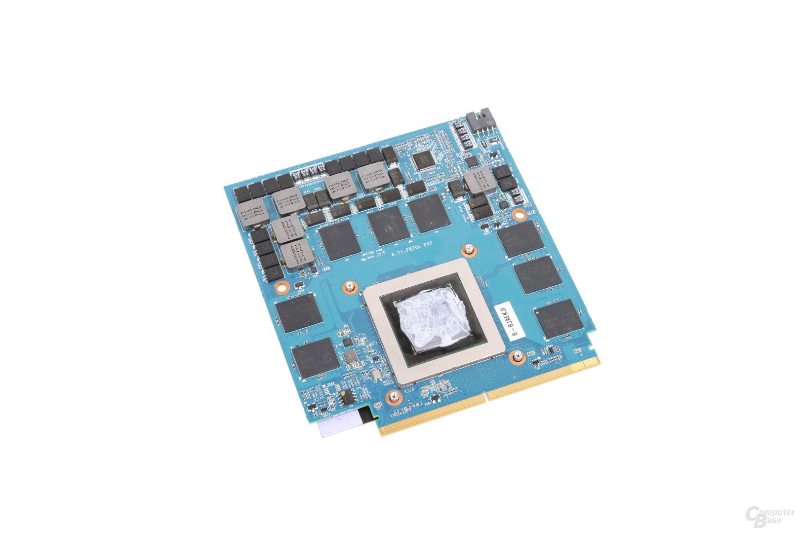 MXM-Modul der GeForce GTX 980