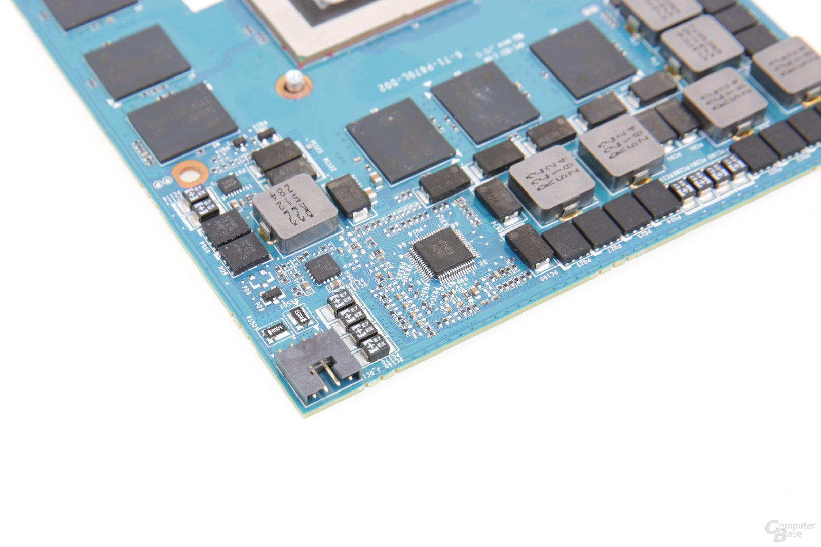 Stromanschluss der GeForce GTX 980