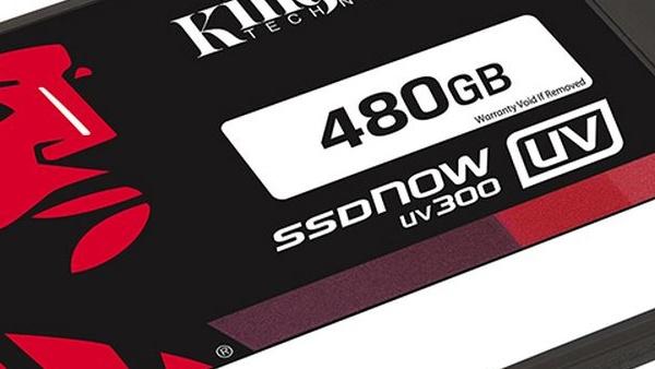 Kingston UV300: Neue Einsteiger-SSDs mit TLC und Phison S10