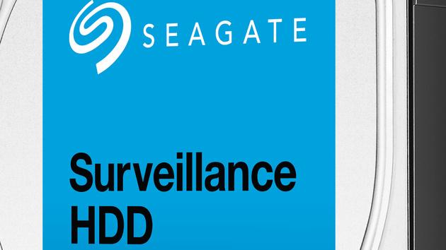 Surveillance HDD: Seagate bietet 8 TB für Videoüberwachung