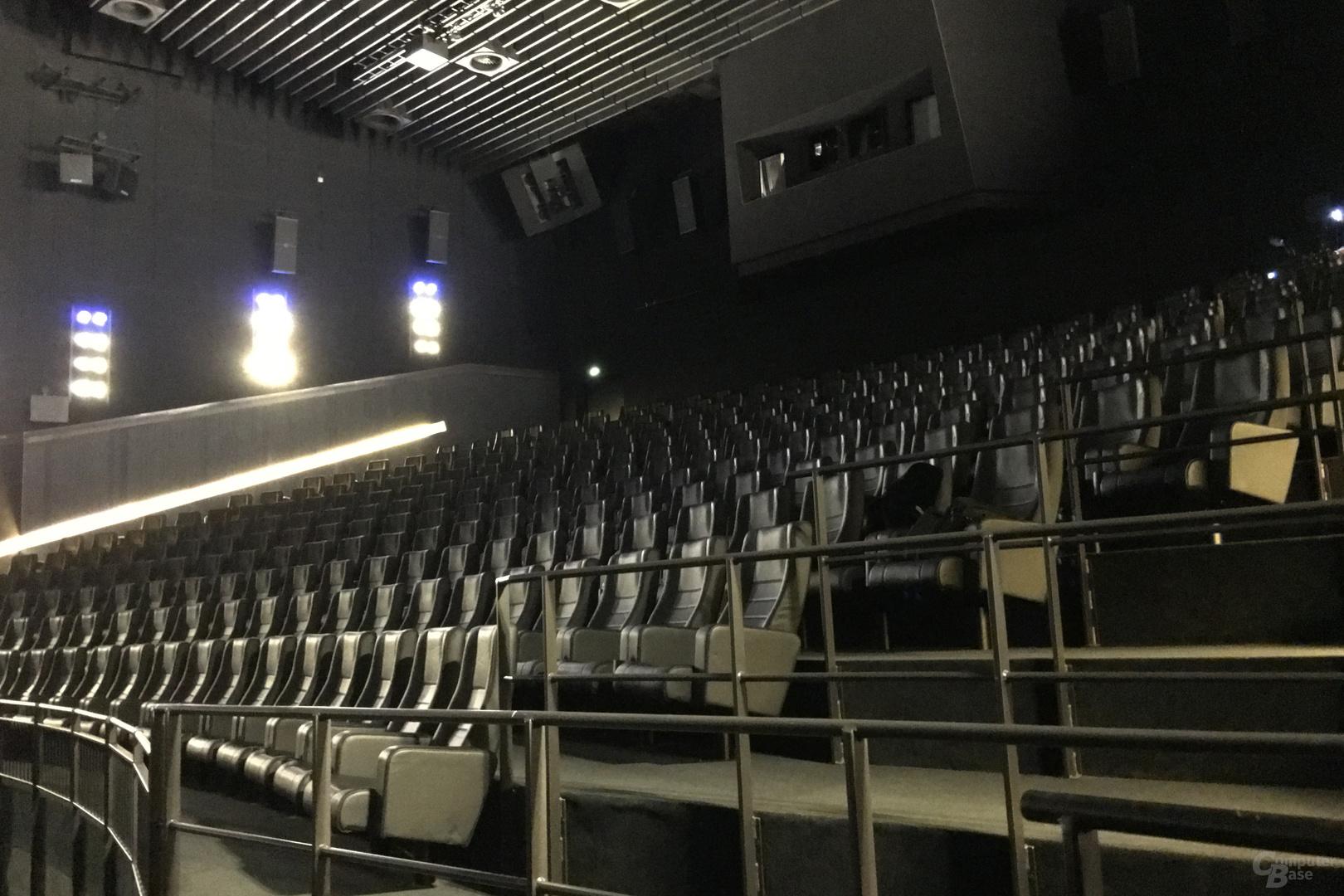 Der IMAX-Saal mit insgesamt 328 Plätzen