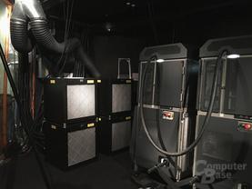 Auch das Kühlsystem stammt von Barco