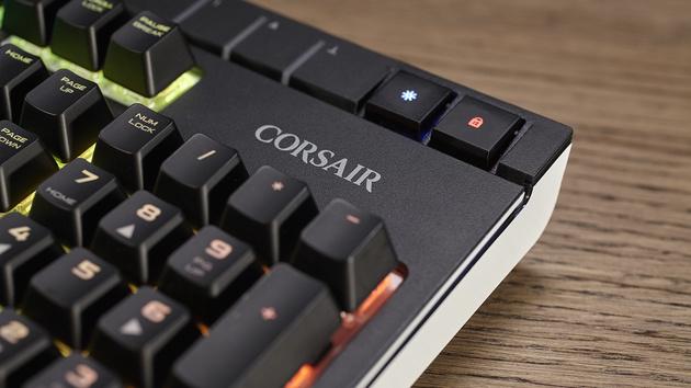 Corsair Strafe RGB MX Silent: Geräuschgedämpfte Taster auch in Deutschland verfügbar