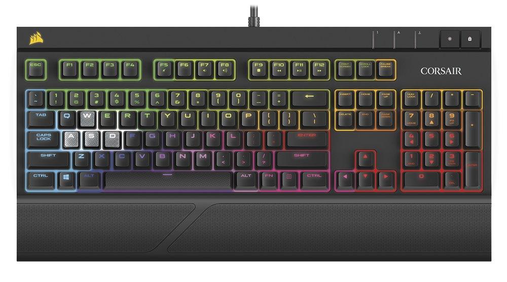 Mechanische Tastatur als leiseres Schwestermodell zur Strafe RGB
