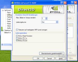 Detonator 56.55 - Leistungskurve