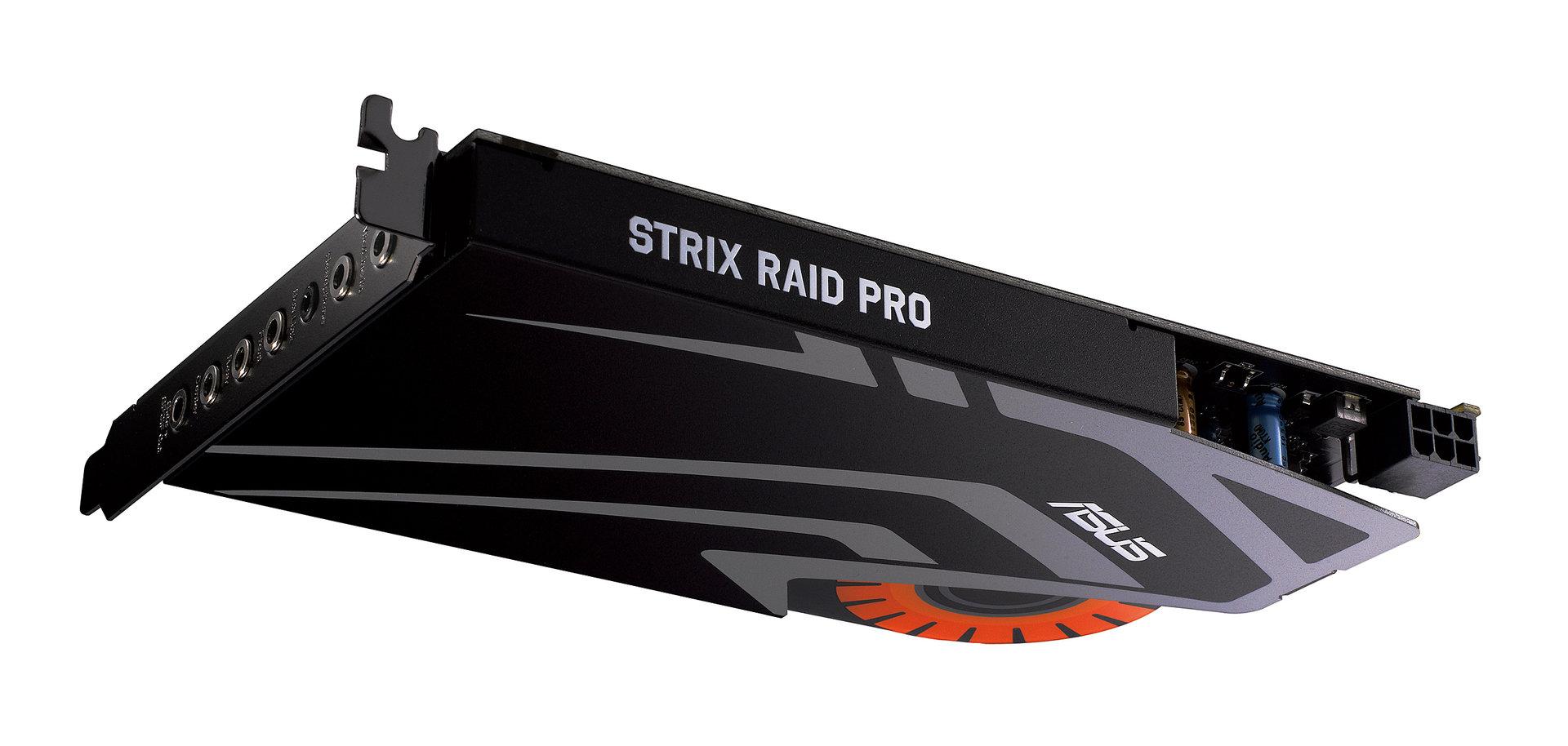 Asus Strix Raid Pro mit 600-Ohm-Kopfhörerverstärker