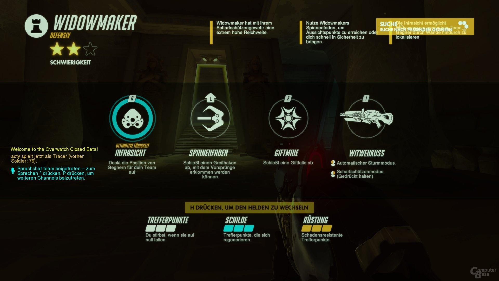 Overwatch – Fähigkeiten