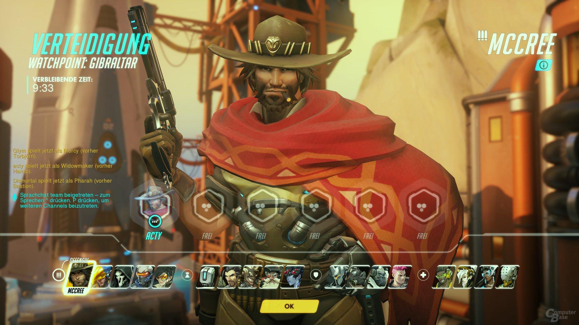 Overwatch – Heldenauswahl