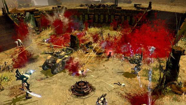Dawn of War 2 - Retribution: Zwei Euro teurer DLC verstärkt Bluteffekte