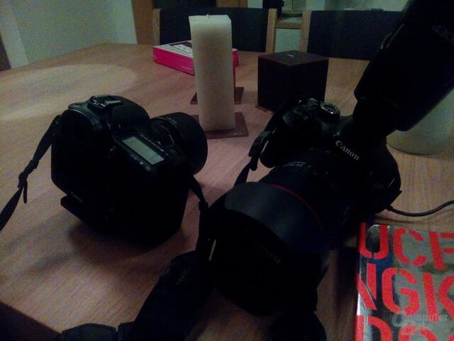 Bei schlechten Lichtverhältnissen versagt die Kamera