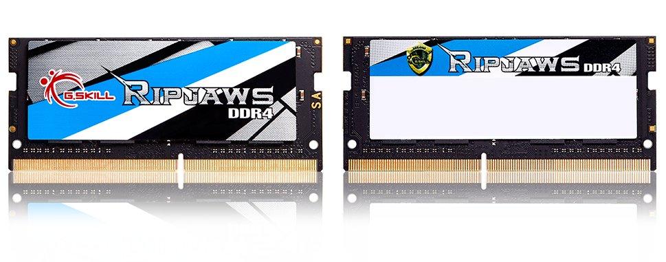 SO-DIMM-Kits von G.Skill als DDR4-RAM mit 16-GB-Modulen und bis zu 64 GByte