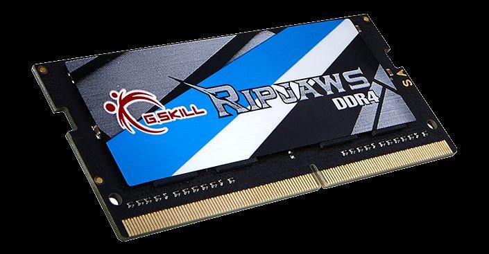 G.Skill Ripjaws als DDR4-RAM für Notebooks mit Geschwindigkeiten von bis zu 2.800 MHz