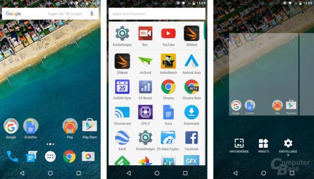 Android 6.0 auf dem Nexus 5X