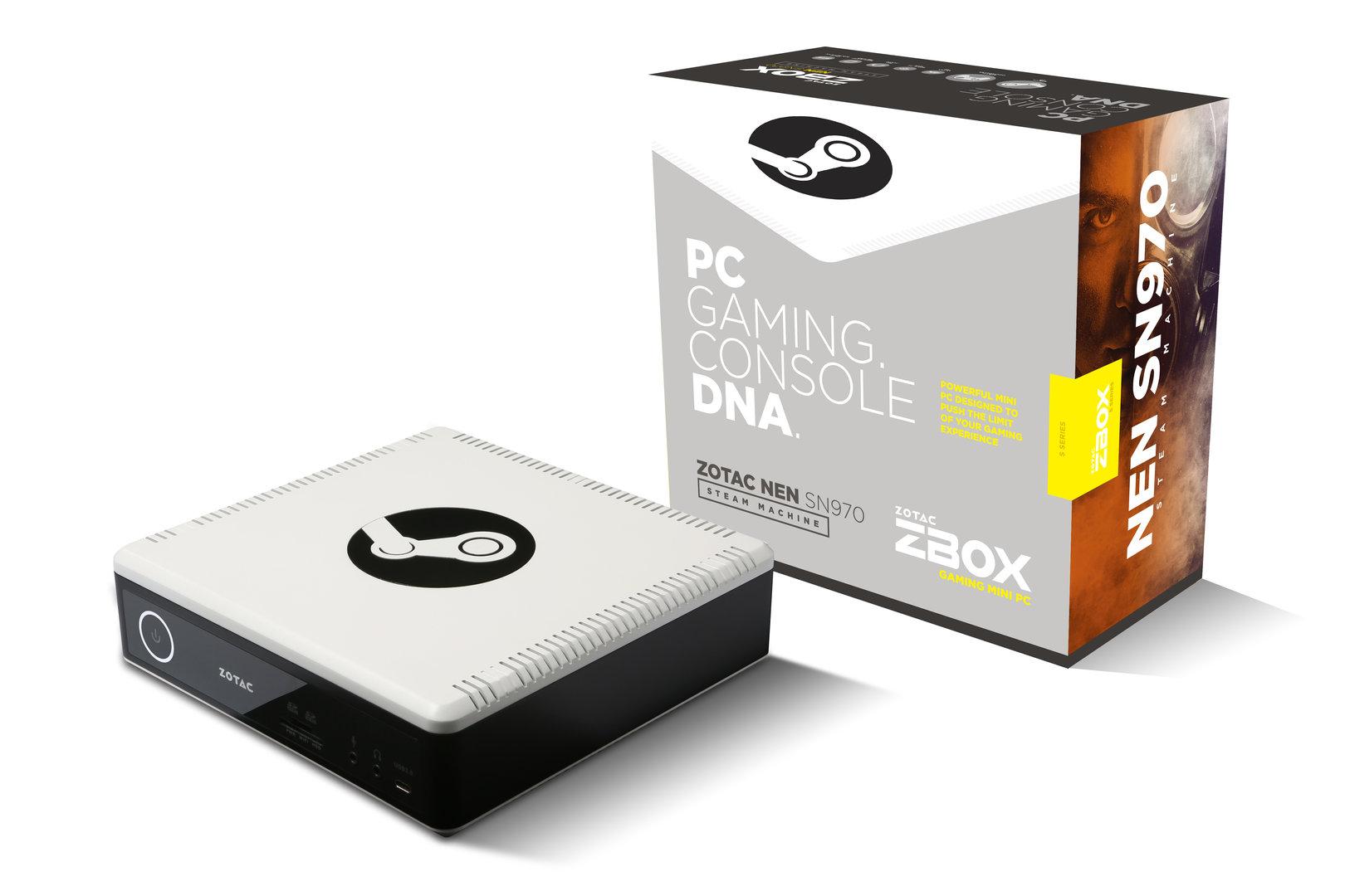 Die Steam Machine Zbox NEN SN970 von Zotac