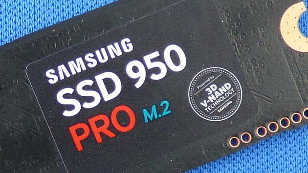 Samsung SSD 950 Pro: NVMe-Treiber und Magician 4.8 als Download
