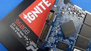 Patriot Ignite SSD im Test: 960 Gigabyte in Benchmarks schneller als in der Praxis