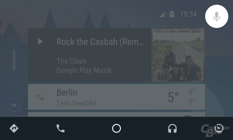 Google-Suche unter Android Auto
