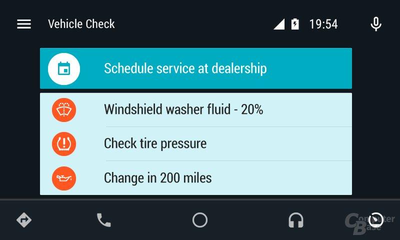 Android Auto: Diagnostik im Detail