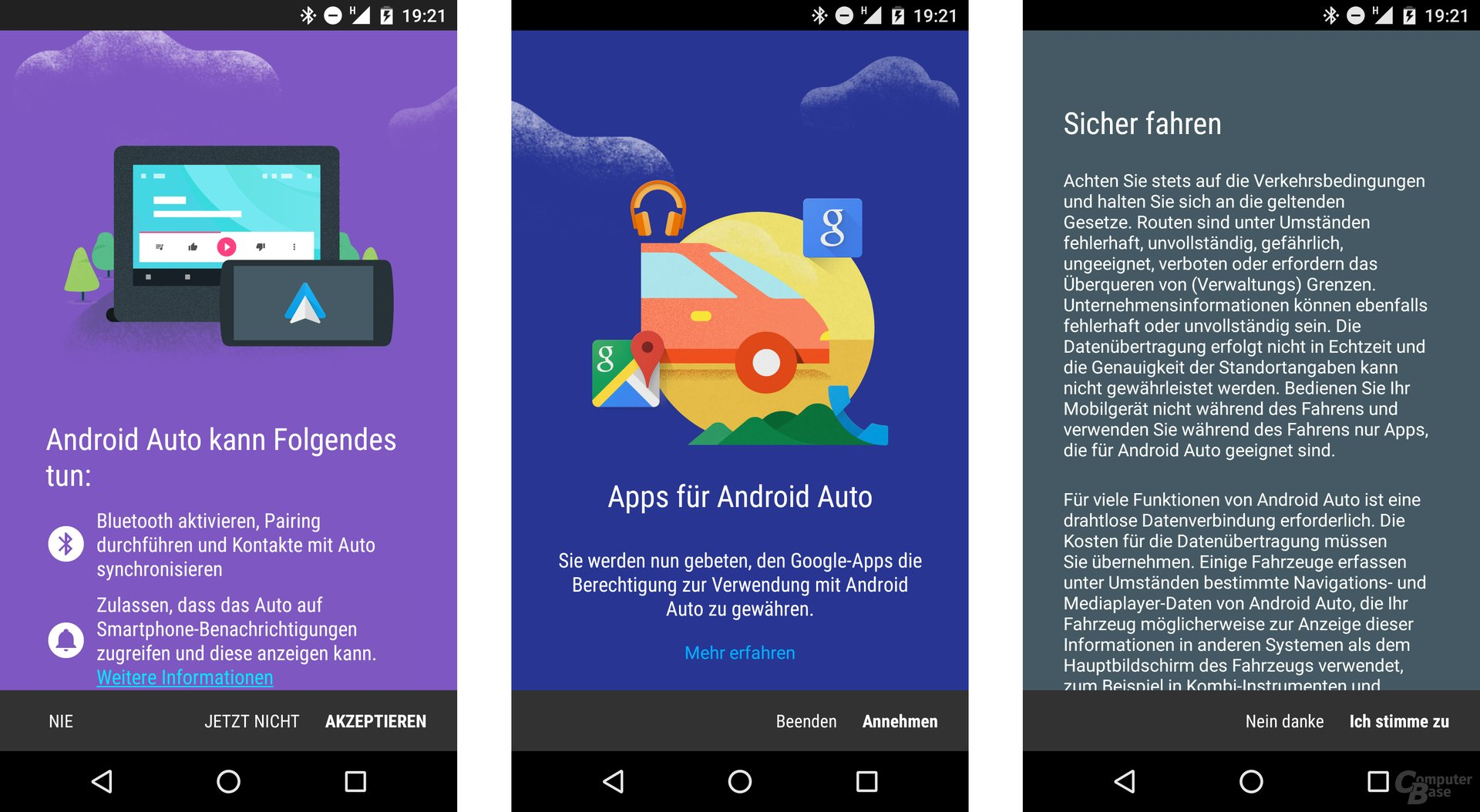 App für Android Auto