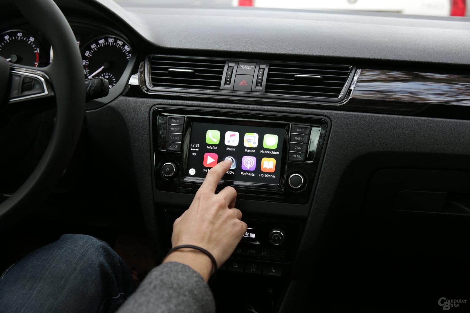 Touch-Bildschirm mit 6,5 Zoll