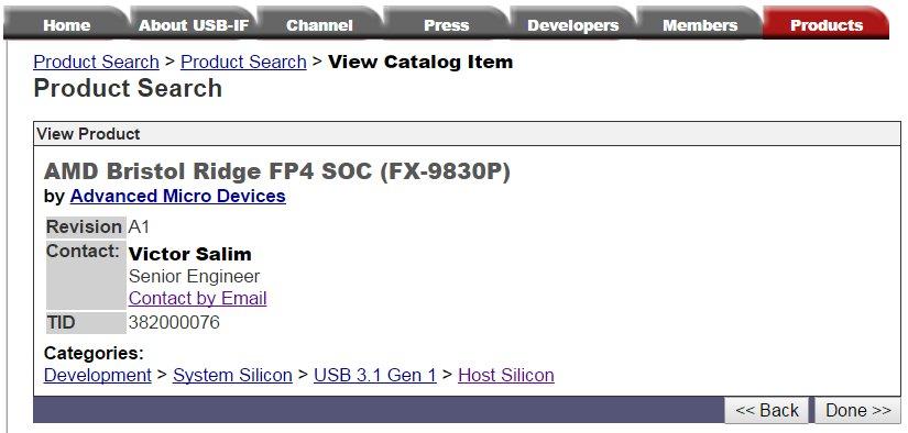 FX-9830P alias AMD Bristol Ridge