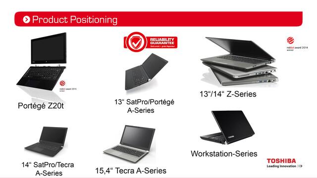 Neue Toshiba Notebooks