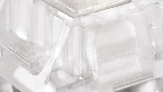 MX RGB Nature White: Lineare Taster mit mittlerem Widerstand von Cherry