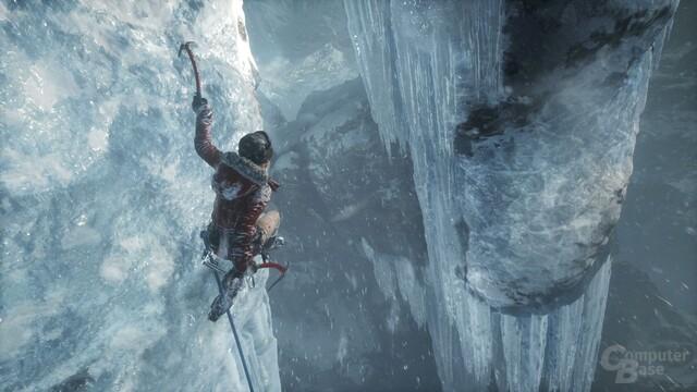 Der Abgrund ist Kulisse: Beim Klettern lässt sich noch immer nicht viel falsch machen