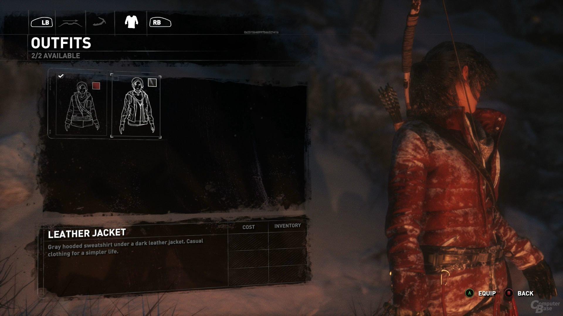 Die Wahl des Outfits obliegt dem Geschmack des Spielers