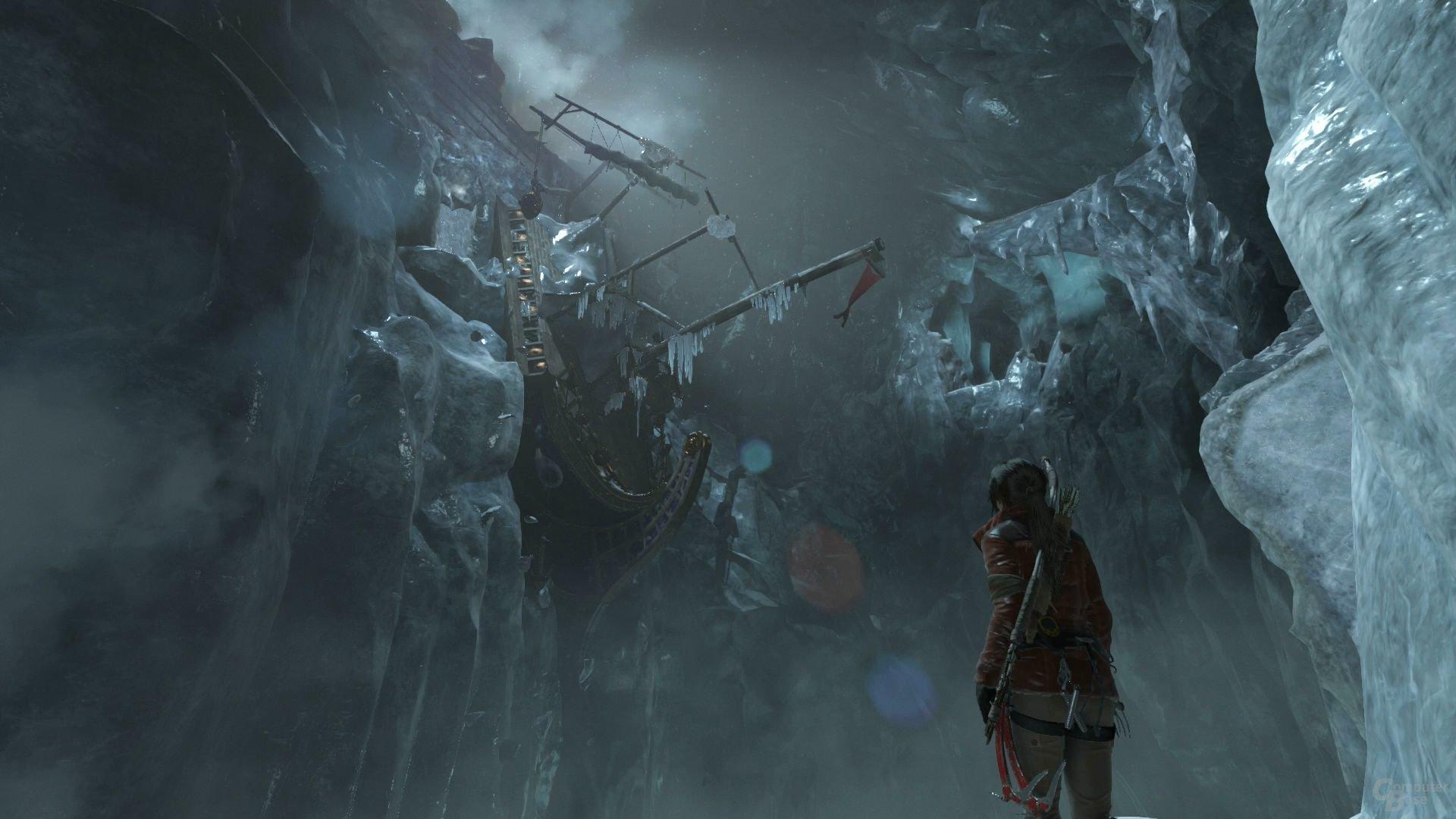 """Die spektakulären """"Challenge Tombs"""" bereichern das Spiel"""
