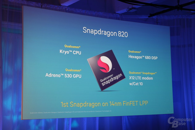 Snapdragon 820 in 14-nm-LPP-Fertigung