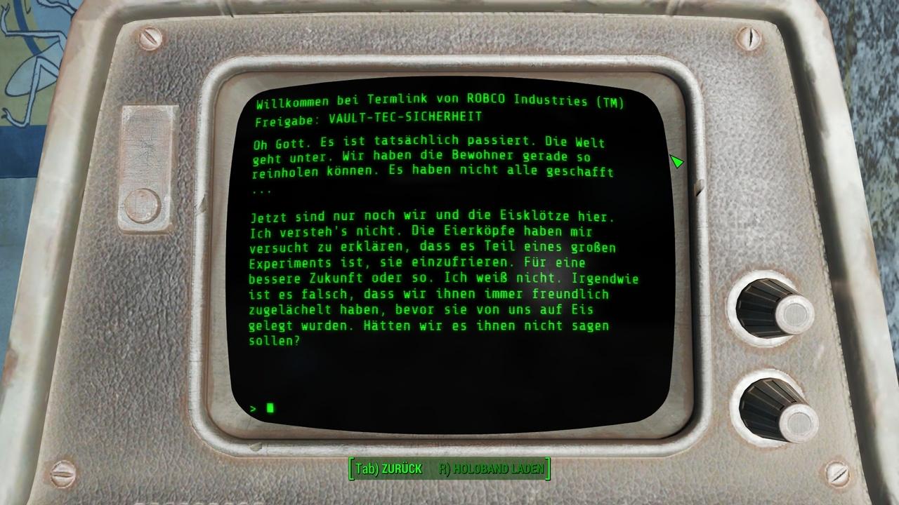 Fallout 4: DVD-Version lädt 25 GB Daten von Steam herunter