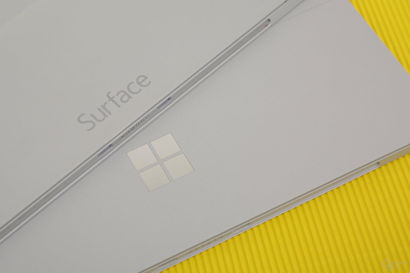 Aus Surface wird das Windows-Logo