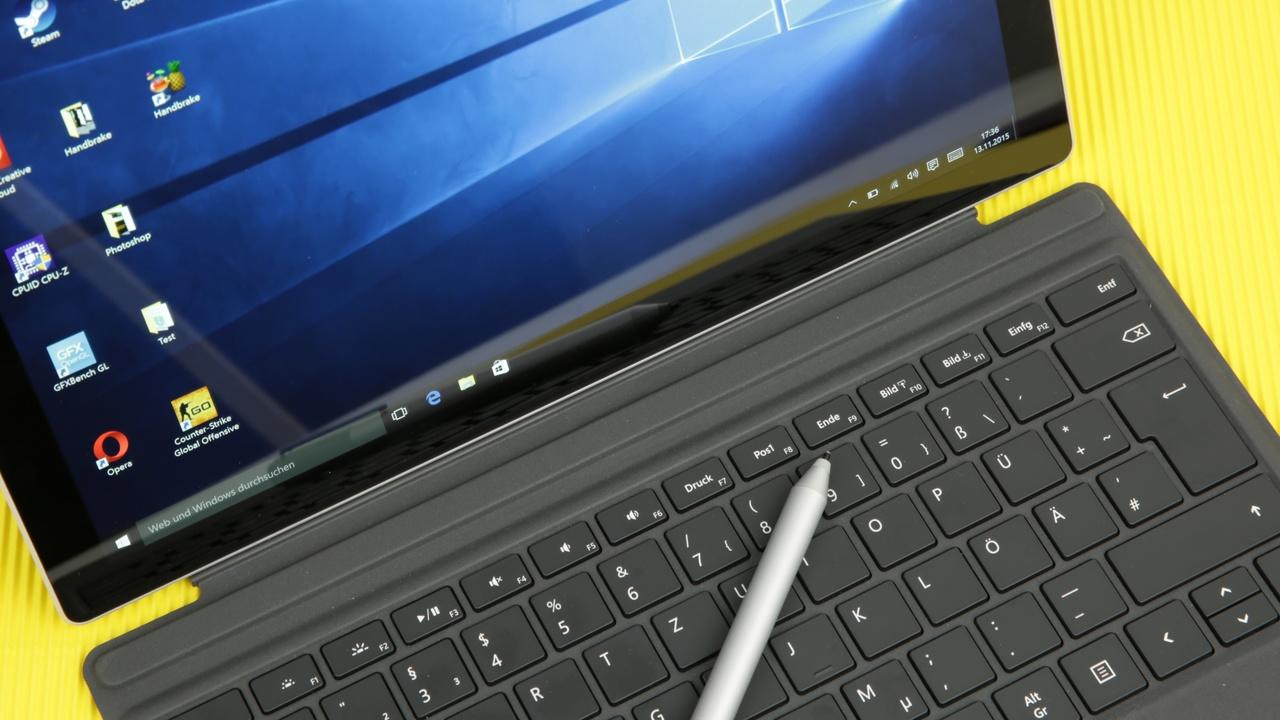 Surface Pro 4 im Test: Schneller bereit, als der Benutzer sitzen kann