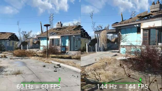 Fallout 4: Schnellerer Spielablauf mit 144Hz und ohne VSync