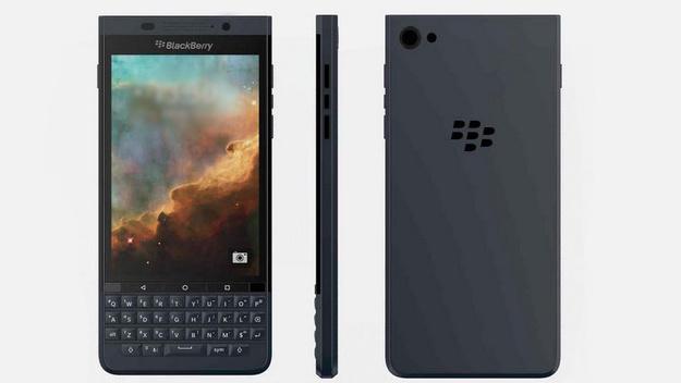 BlackBerry Vienna: Androide mit Volltastatur unterm Display durchgesickert