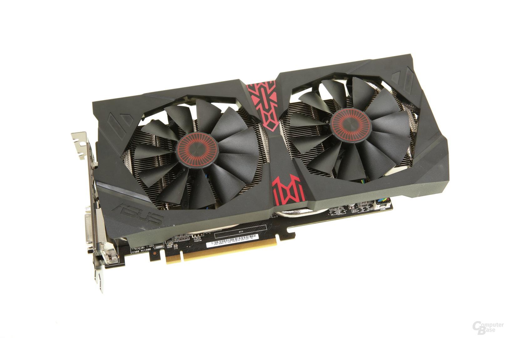 Asus Radeon R9 380X Strix OC ist länger