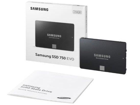 Samsung SSD 750 Evo