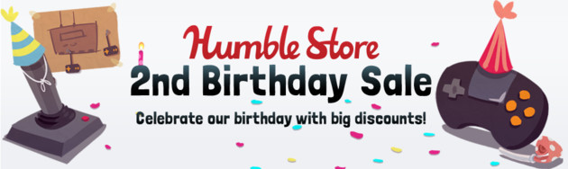 Humble Store 2nd Birthday Sale