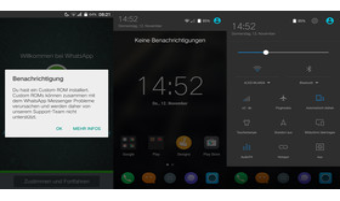 WhatsApp sieht Cyanogen als Custom ROM|Benachrichtigungsleiste