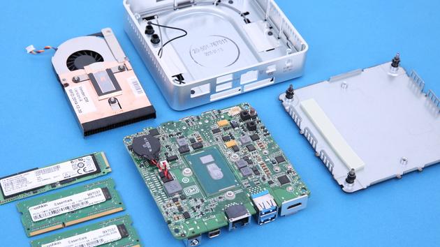 Intel NUC: Mini-PC bekommt Skylake-Core-i5 mit Iris‑Grafik