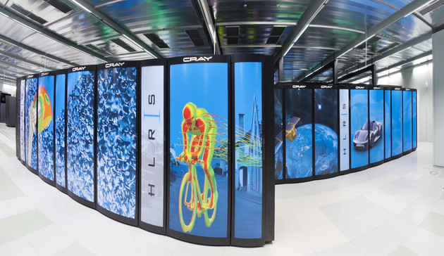 Deutschlands schnellster Supercomputer Hazel Hen am HLRS